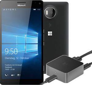 Microsoft LUMIA 950 XL Schwarz+Display Dock