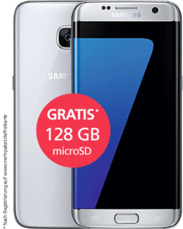 Samsung Galaxy S7 Edge Mit O2 Blue Basic Flex Von O2 Ansehen