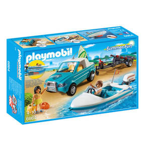 PLAYMOBIL®   Surfer-Pickup mit Speedboat 6864