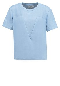 Denim Hunter TShirt print chambray blue