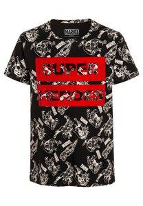 Eleven Paris SUPA TShirt print black