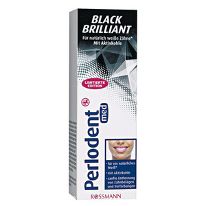 Perlodent              Black Brilliant Zahncreme