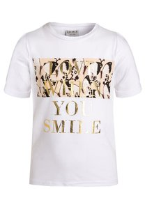 limited by name it NITGALOA TShirt print bright white