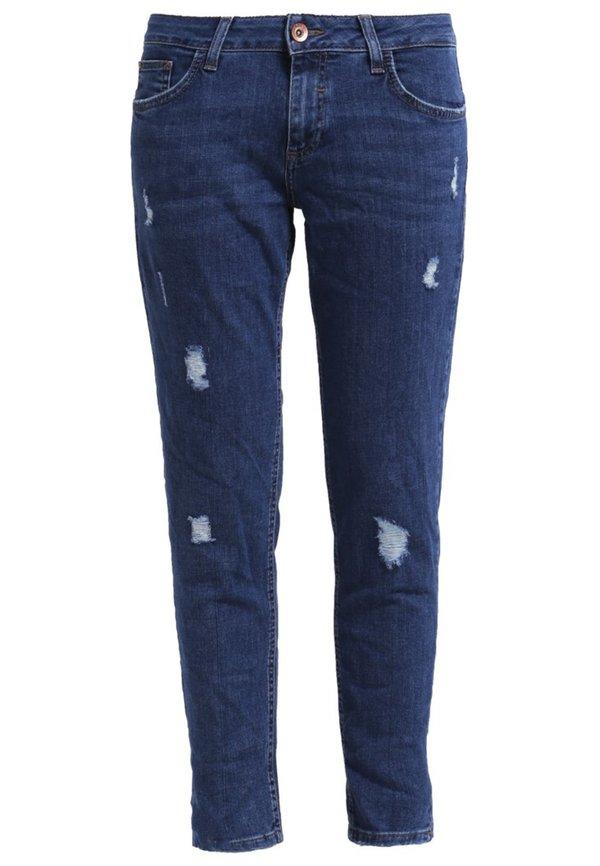 s oliver jeans tapered fit blue denim von zalando ansehen. Black Bedroom Furniture Sets. Home Design Ideas