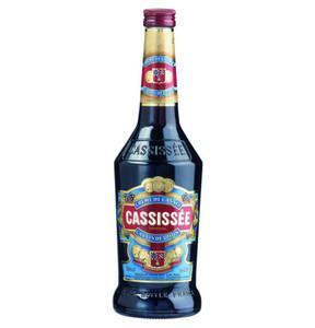 Cassissée Creme de Cassis de Dijon Likör, 0,7l