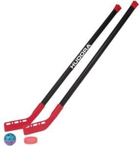 Street Hockey Set Junior 100 cm schwarz