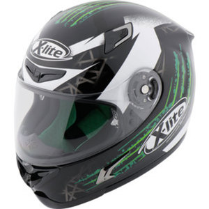 X-lite X-802RR Green Effect Integralhelm