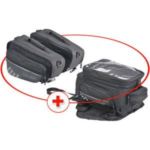 Louis75 Gepäck-Set        Tankrucksack und Satteltaschen