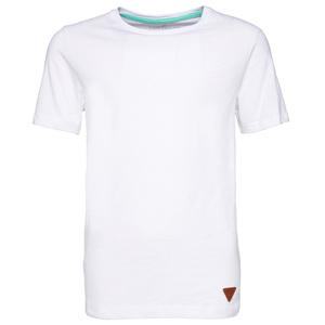T-Shirt mit Foto-Print und Schrift