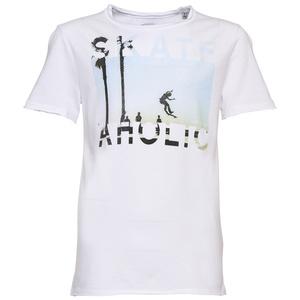 T-Shirt mit Skater-Motiv