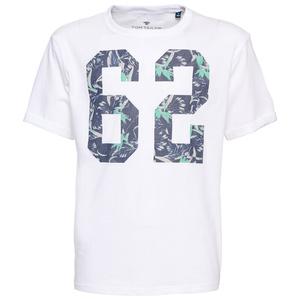 T-Shirt mit Nummern-Print