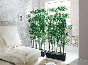 Kunstpflanze Bambus-Raumtrenner