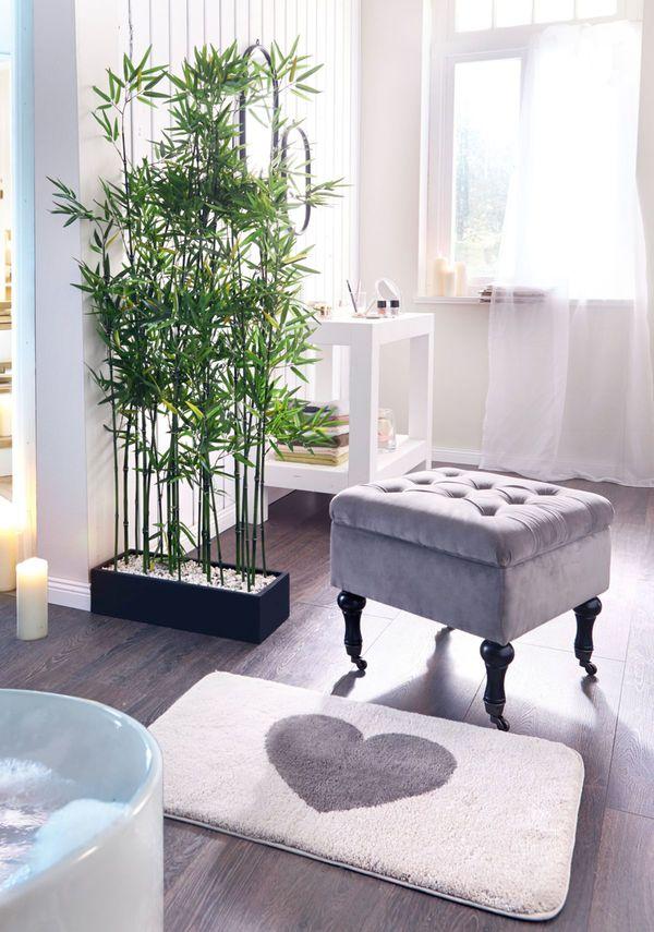 Kunstpflanze Bambus Raumtrenner Von Ansehen Discounto De