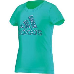 adidas Mädchen T-Shirt Wardrobe Performance Logo