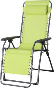 Lesli Living Relaxstuhl, inkl. Kopfpolster - lime grün