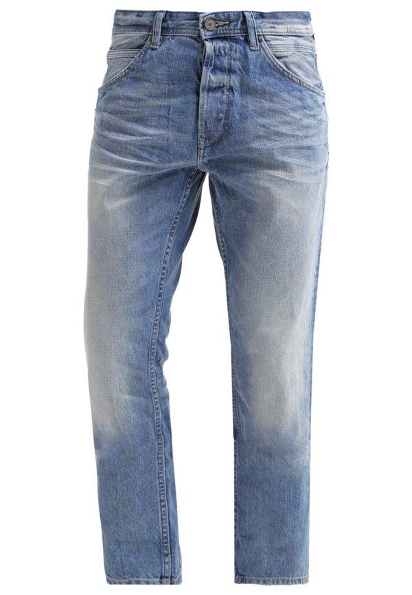 tom tailor denim atwood jeans straight leg light stone. Black Bedroom Furniture Sets. Home Design Ideas
