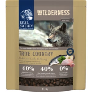 REAL NATURE WILDERNESS True Country Senior Huhn mit Lachs & Hering