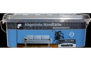 Primaster Wandfarbe Wohnambiente  meerblau, 2,5 l