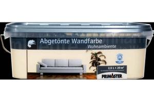 Primaster Wandfarbe Wohnambiente  aprikose, 2,5 l