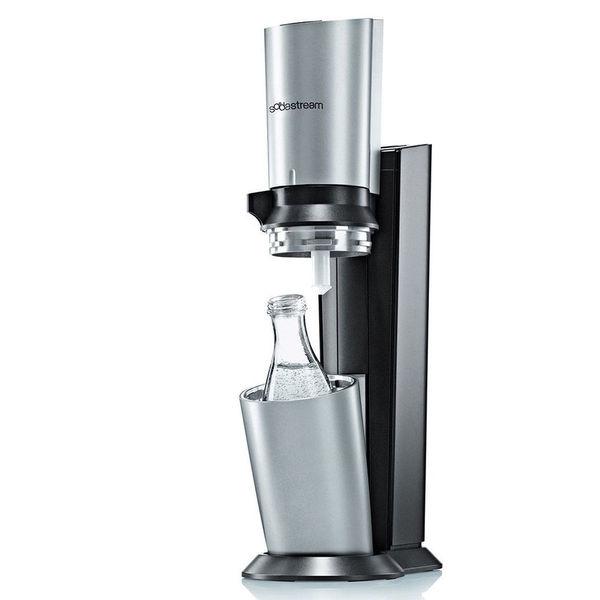 sodastream sprudelwasserbereiter crystal mit 3 glaskaraffen und 6 sirupproben von karstadt. Black Bedroom Furniture Sets. Home Design Ideas