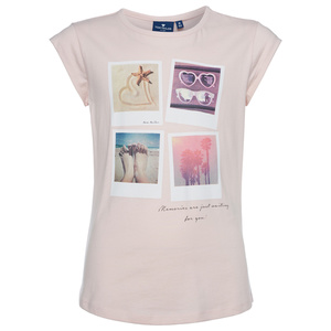 T-Shirt mit Polaroid-Motiv