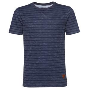 Streifen-Shirt in Melange-Optik