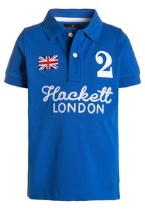 Hackett London Poloshirt royal