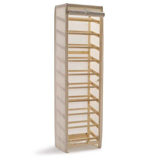 schuhregal mit stoffbezug von strauss innovation f r 69 99 ansehen. Black Bedroom Furniture Sets. Home Design Ideas