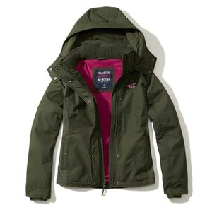 Hollister Wetterfeste Jacke mit Fleece-Futter