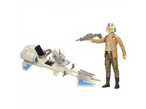 Star Wars ultimate Figur B3918  E7 Speederbike und