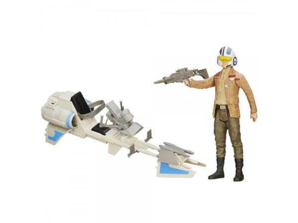 Star Wars ultimate Figur B3918  E7 Speederbike und