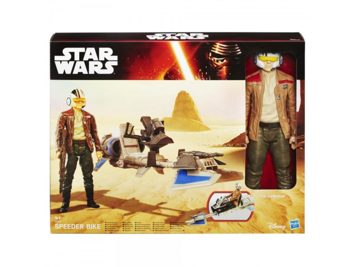 Bild 2 von Star Wars ultimate Figur B3918  E7 Speederbike und