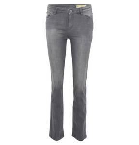 ESPRIT             Jeans, gerader Schnitt, Denim, leichte Waschung
