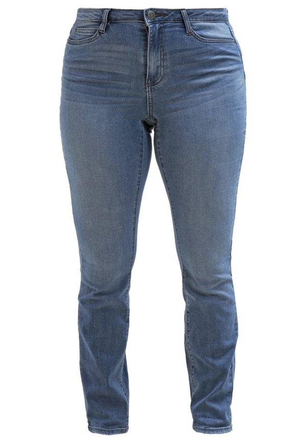 junarose jrfive jeans slim fit light blue denim von. Black Bedroom Furniture Sets. Home Design Ideas