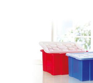 Box mit transparentem Deckel