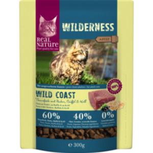 REAL NATURE WILDERNESS Wildcoast Adult Thunfisch mit Huhn, Büffel & Krill