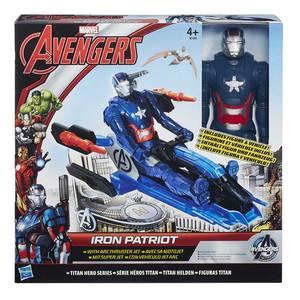 Hasbro The Avengers - Titan Hero Figuren, Fahrzeug