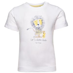 T-Shirt mit lustigem Löwen-Print