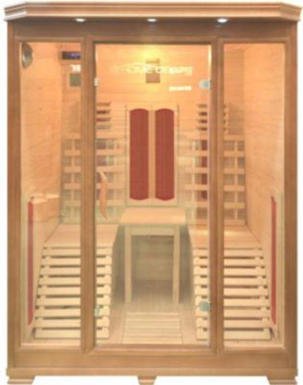 home deluxe infrarotsauna maui von f r ansehen. Black Bedroom Furniture Sets. Home Design Ideas