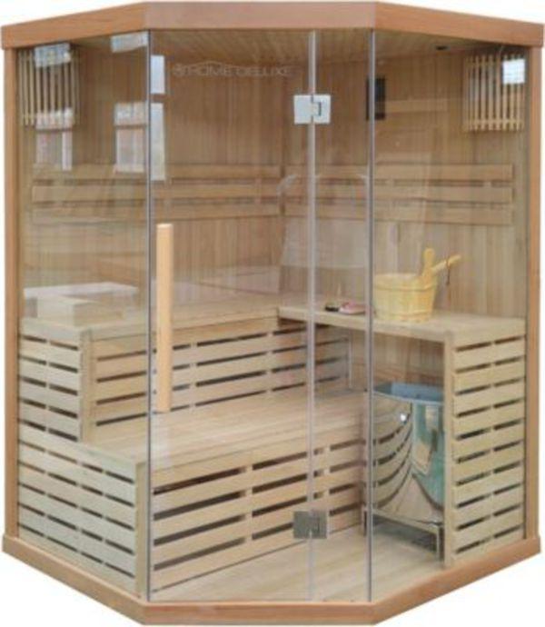 home deluxe skyline xl sauna inkl 6 kw saunaofen von ansehen. Black Bedroom Furniture Sets. Home Design Ideas