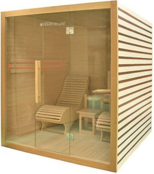 home deluxe sauna horizon von ansehen. Black Bedroom Furniture Sets. Home Design Ideas