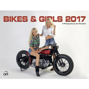 Biks and Girls Kalender 2017        390 x 300 mm
