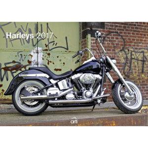 Harley Davidson Kalender 2017        420 x 300 mm