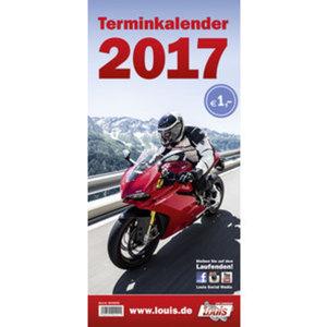 Louis Motorrad Terminkalender 2017        210 x 450 mm