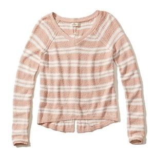 Pullover mit Schnürung hinten