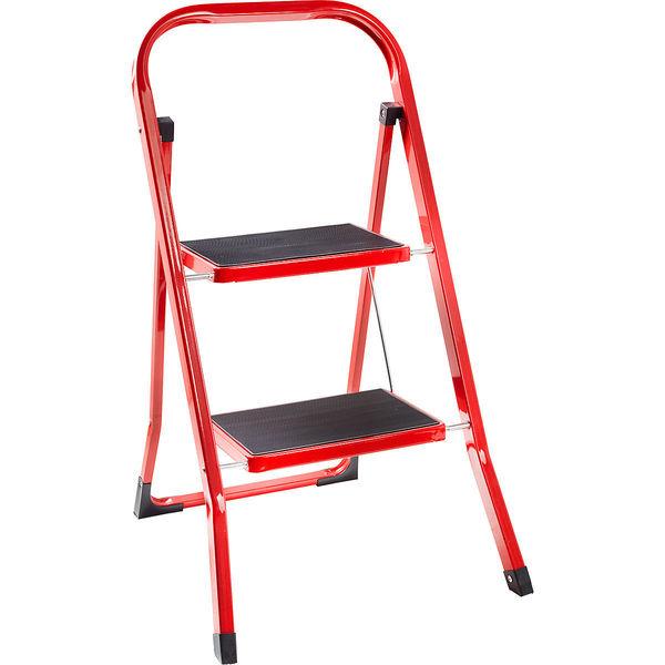 k town klapptrittleiter mit b gel 2 stufig rot von karstadt f r 19 99 ansehen. Black Bedroom Furniture Sets. Home Design Ideas