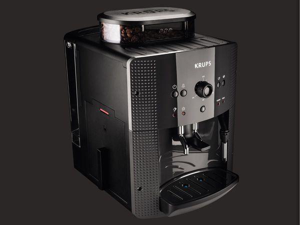 krups kaffeevollautomat ea810b von lidl ansehen. Black Bedroom Furniture Sets. Home Design Ideas