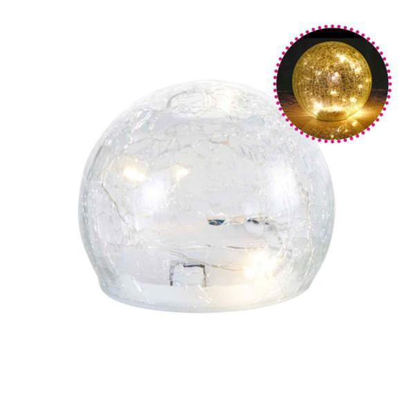 LED-Glaskugel mit Timer