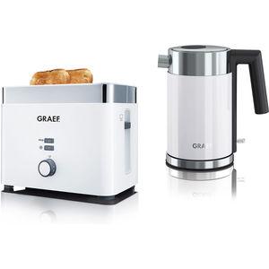 """Graef Frühstücks-Duo FSET101EU """"Toaster TO61+ Wasserkocher WK401"""""""