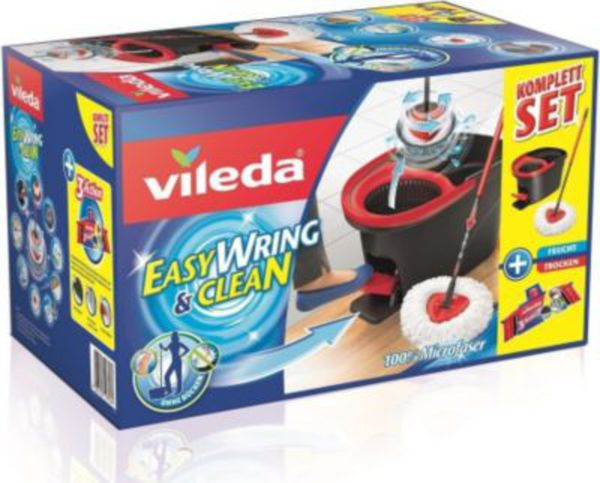 vileda 150702 easywring clean komplett set mit powerschleuder von f r 34 95 ansehen. Black Bedroom Furniture Sets. Home Design Ideas